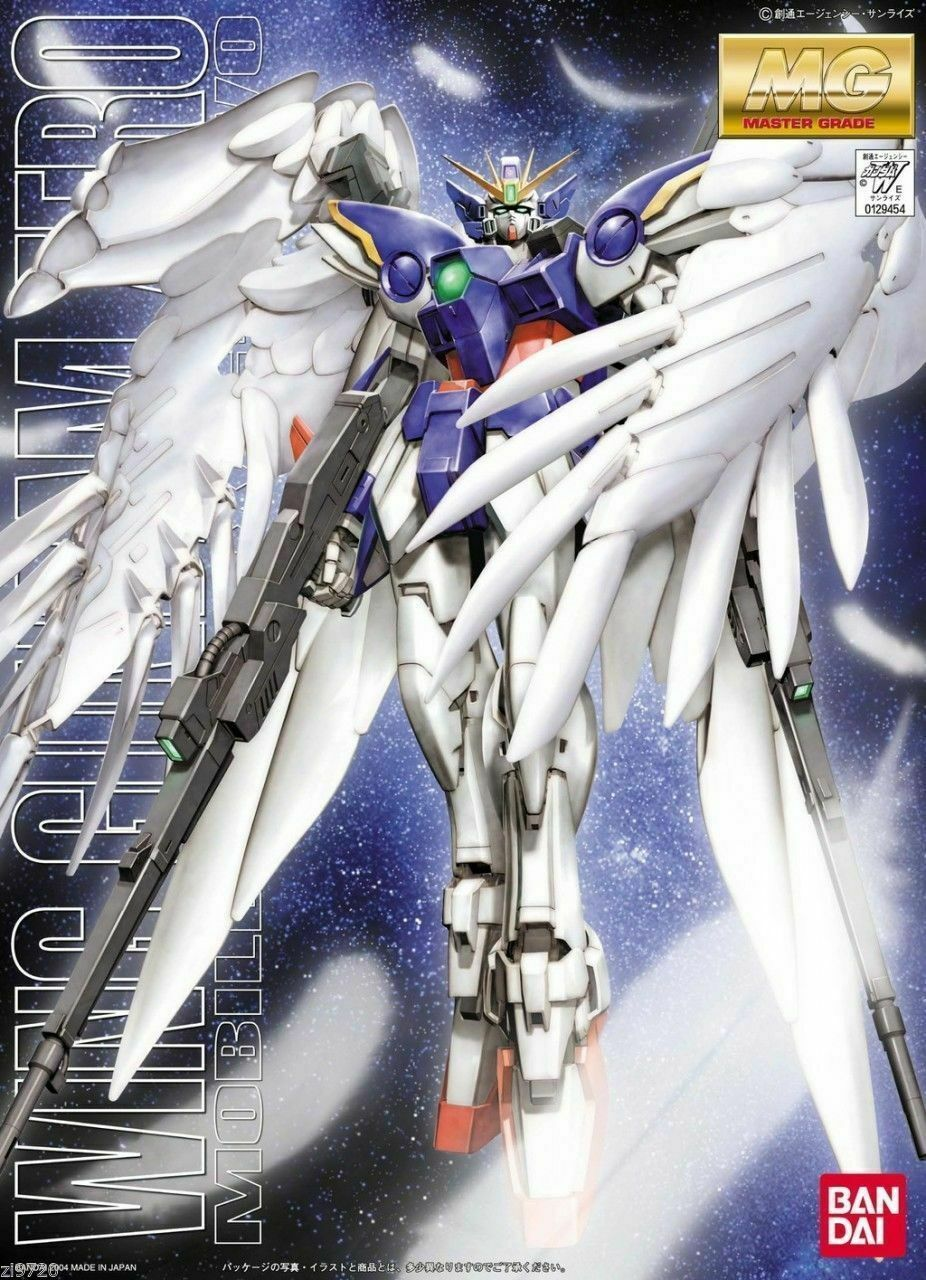 Bandai Wing Gundam Zero Mobile Suit XXXG-OOWO Custom Gundam Model Kit MG 1/100