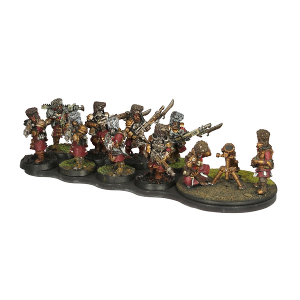 8+1 Guardsman+Heavy Weapon Ferro-Resin Movement Tray