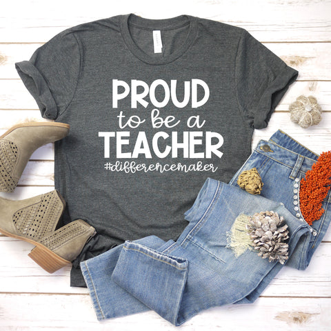 Proud To Be A Teacher