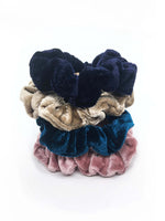 Mini Velvet Scrunchies