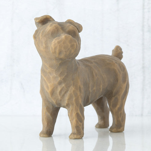 The Shabby Shed - Willow Tree Figurines - Love My Dog Small Standing
