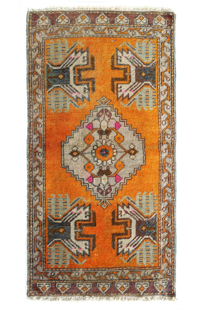 No. 369 Petite Rug - Canary Lane - Curated Textiles