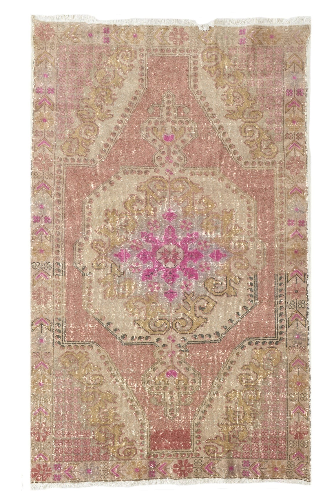 "'Starlight' Vintage Turkish  Rug - 4'5"" x 7'4"""