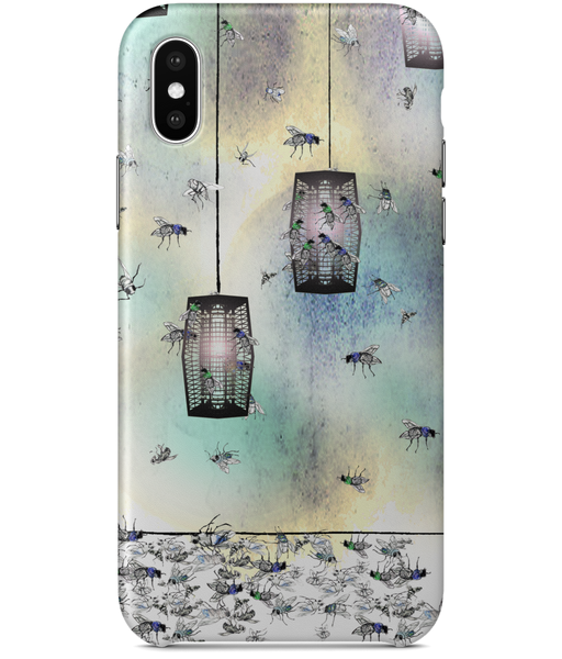 iPhone XS Classic Fly Print