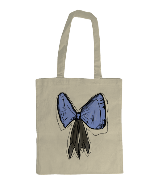 Organic Bow Tote Bag - sleekitstore