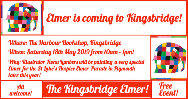 Paint Elmer the Elephant for the Elmer Parade with author and illustrator Fiona Lumbers!