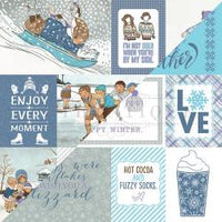 Frosted Double-Sided Cardstock 12