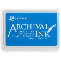 Ranger Mini Archival Ink Pads  - Manganese Blue