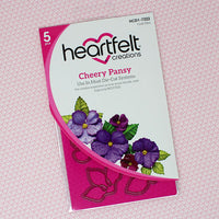 Cheery Pansy Die Set - HCD1-7222