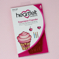 Sugarspun Cupcake Cling Stamp Set - HCPC-3870