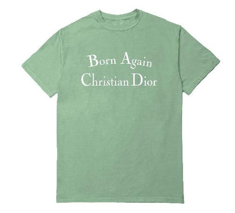 BORN AGAIN T-SHIRT WHITE