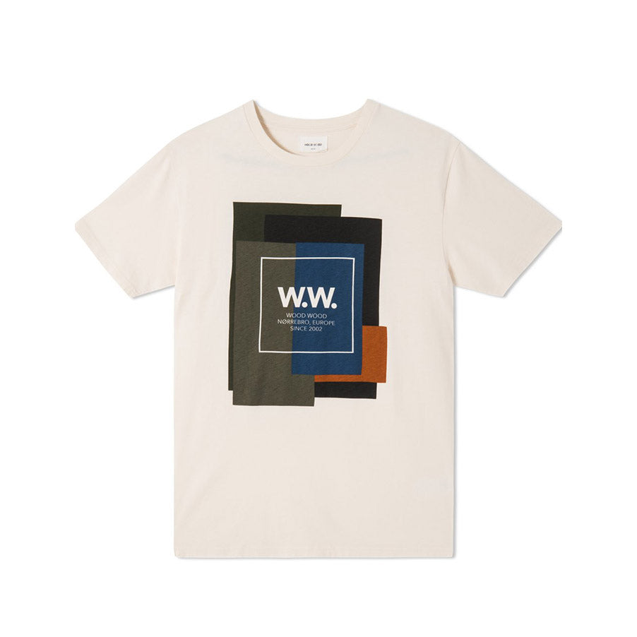 WW QUILT T-SHIRT OFF-WHITE