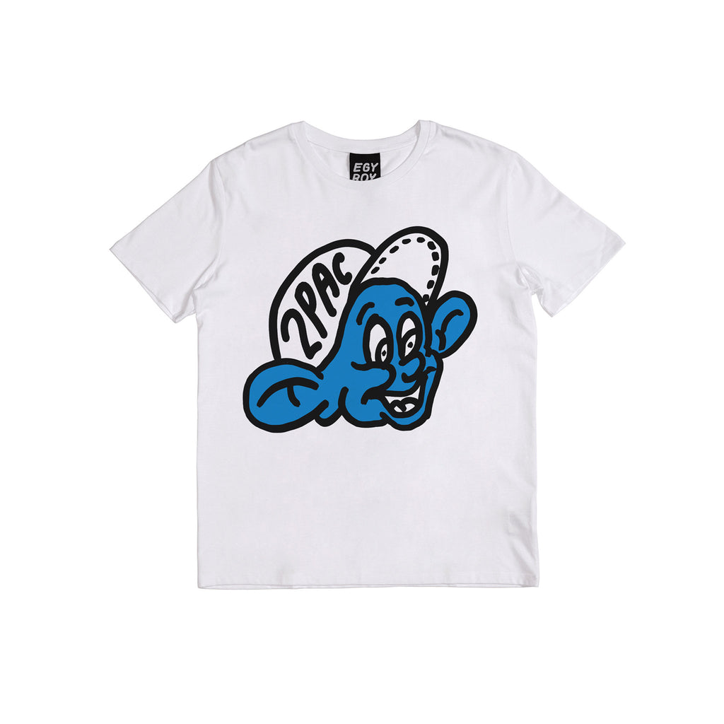 2 Pac Tee Egyboy T-Shirt White