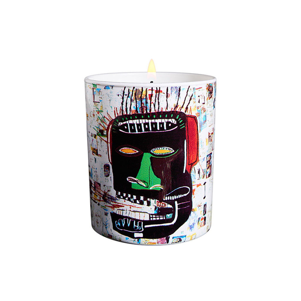 "LIGNE BLANCHE X BASQUIAT SCENTED CANDLE ""GLENN"""