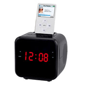 "Supersonic 1.2"" Ipod/Iphone Docking Station With Am/Fm Radio And Alarm Clock"