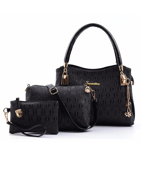 Three Pieces Composite Bags Shoulder Bags