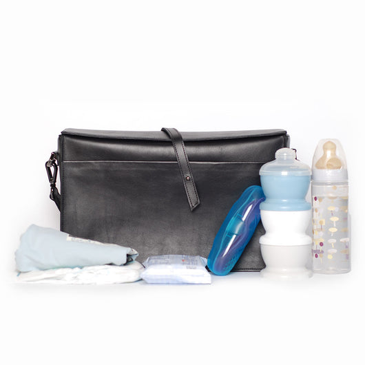 Stroller organizer bag - black