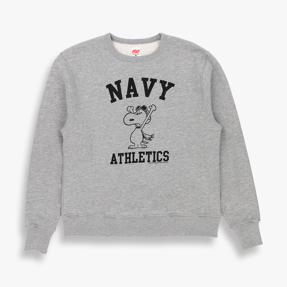 SNOOPY NAVY ATHLETICS SWEAT