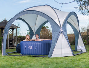 Bestway Lay-Z-Spa Dome Shelter Gazebo for all Lay-Z-Spa Models