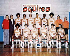 Virginia Squires team photo