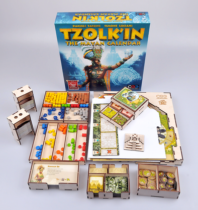 Buy Meeple Realty - Tzolk'in - Box Insert and more Great Inserts and Overlays Products at 401 Games