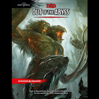 Buy Dungeons & Dragons - 5th Edition - Out of the Abyss and more Great RPG Products at 401 Games