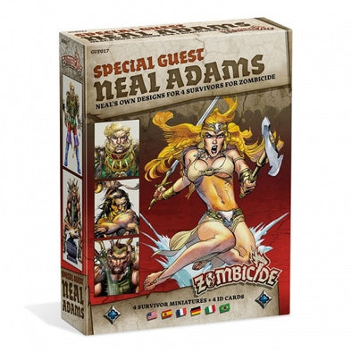 Buy Zombicide - Black Plague - Special Guest - Neal Adams and more Great Board Games Products at 401 Games