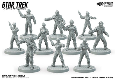 Buy Star Trek Adventures - Borg Collective Miniatures and more Great RPG Products at 401 Games