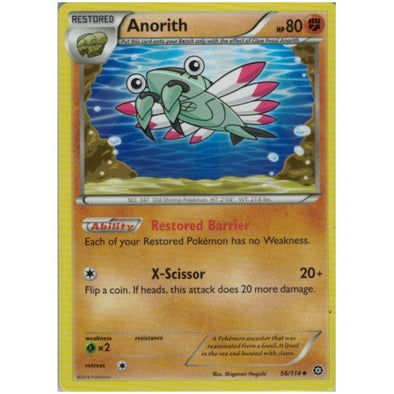 Buy Anorith - 56/114 and more Great Pokemon Products at 401 Games