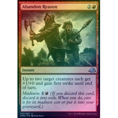 Buy Abandon Reason (Foil) (EMN) and more Great Magic: The Gathering Products at 401 Games