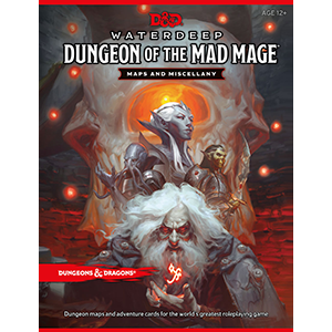 Buy Dungeons & Dragons - 5th Edition - Waterdeep: Dungeon of the Mad Mage - Maps and Miscellany and more Great RPG Products at 401 Games