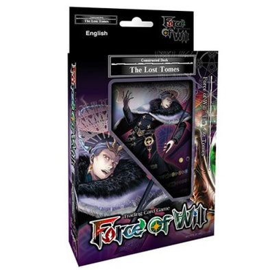 Buy Force of Will - The Lost Tomes - Starter Deck and more Great Force of Will Products at 401 Games
