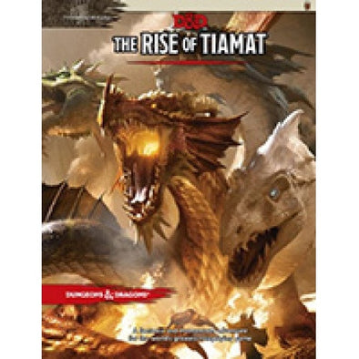 Buy Dungeons & Dragons - 5th Edition - Tyranny of Dragons - The Rise of Tiamat and more Great RPG Products at 401 Games