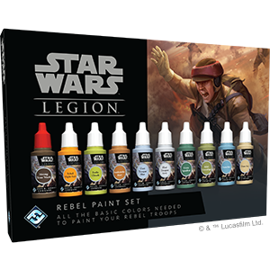 Star Wars - Legion - Rebel Paint Set (Pre-Order)