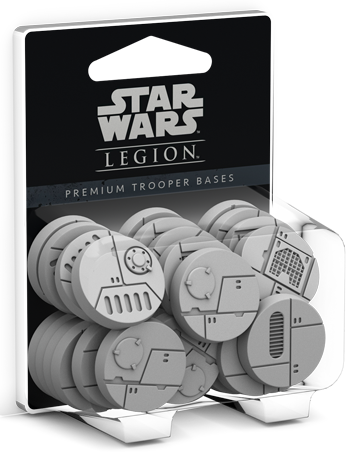 Buy Star Wars - Legion - Premium Trooper Bases and more Great Tabletop Wargames Products at 401 Games