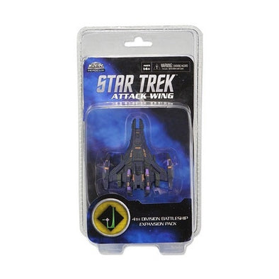 Buy Star Trek Attack Wing 4th Division Battleship Expansion Pack (Repaint) and more Great Board Games Products at 401 Games