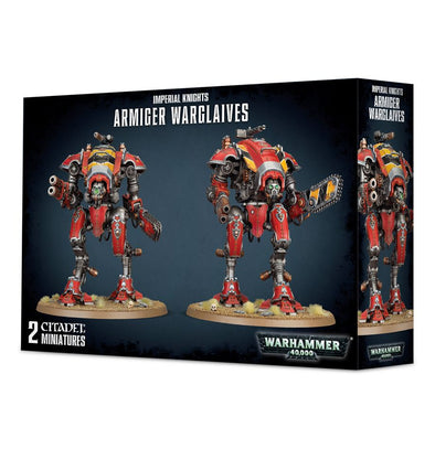 Buy Warhammer 40,000 - Imperial Knights - Armiger Warglaives and more Great Games Workshop Products at 401 Games
