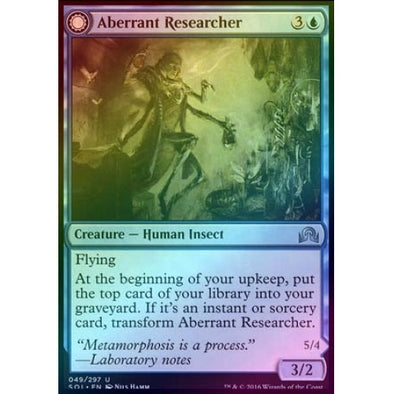 Buy Aberrant Researcher | Perfected Form (Foil) (SOI) and more Great Magic: The Gathering Products at 401 Games