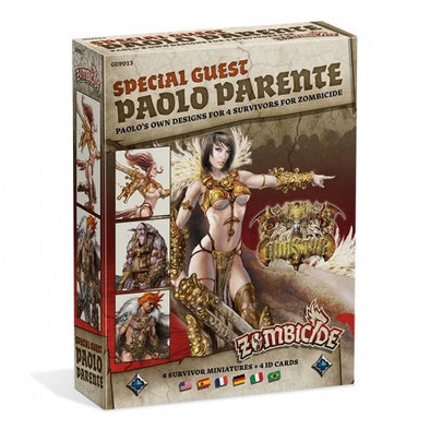 Buy Zombicide - Black Plague - Special Guest - Paolo Parente and more Great Board Games Products at 401 Games
