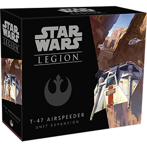 Buy Star Wars - Legion - Rebel - T-47 Airspeeder and more Great Tabletop Wargames Products at 401 Games