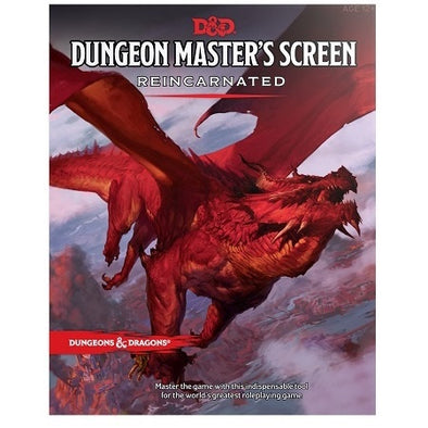 Buy Dungeons & Dragons - 5th Edition - Dungeon Master's Screen - Reincarnated and more Great RPG Products at 401 Games