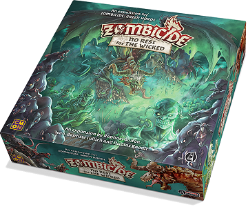 Buy Zombicide - Green Horde - No Rest for the Wicked and more Great Board Games Products at 401 Games