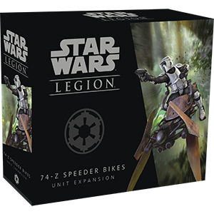 Buy Star Wars - Legion - Imperial - 74-Z Speeder Bikes and more Great Tabletop Wargames Products at 401 Games