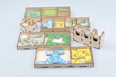 Buy Meeple Realty - Barenpark - Box Insert and more Great Inserts and Overlays Products at 401 Games
