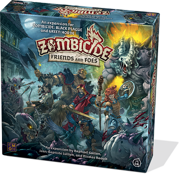 Buy Zombicide - Green Horde - Friends and Foes and more Great Board Games Products at 401 Games