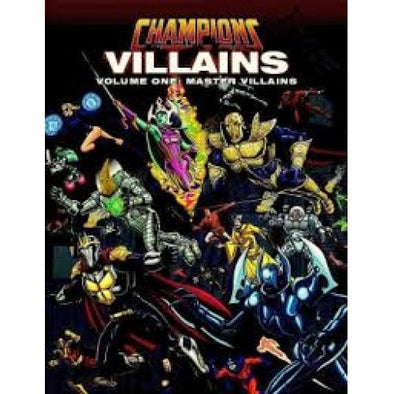 Buy Champions Complete - Villains Volume 1: Master Villains and more Great RPG Products at 401 Games