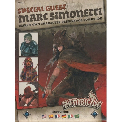Buy Zombicide - Black Plague - Special Guest - Marc Simonetti and more Great Board Games Products at 401 Games