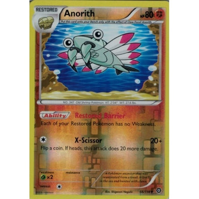 Buy Anorith - 56/114 - Reverse Foil and more Great Pokemon Products at 401 Games