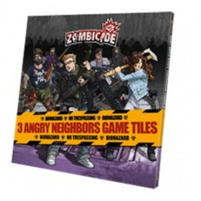 Buy Zombicide - Angry Neighbors Tiles Pack and more Great Board Games Products at 401 Games