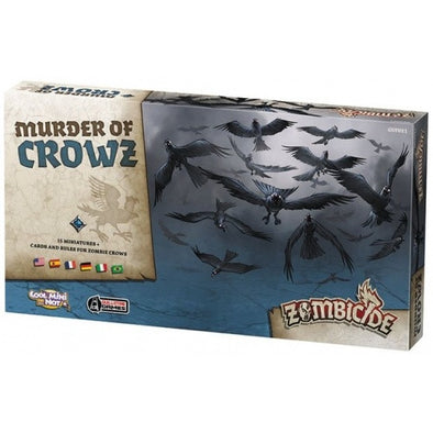 Buy Zombicide - Black Plague - Murder of Crowz and more Great Board Games Products at 401 Games